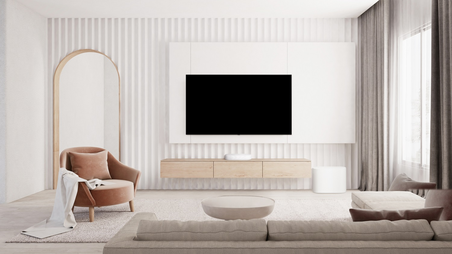 LG Eclair Compact Soundbar Delivers Room-Filling Sound to Movie and Music Lovers Worldwide