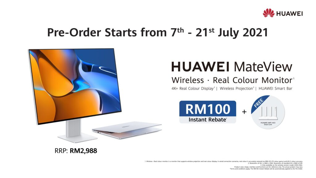 Pre-Order The New High-Performance Monitors, HUAWEI MateView and MateView GT