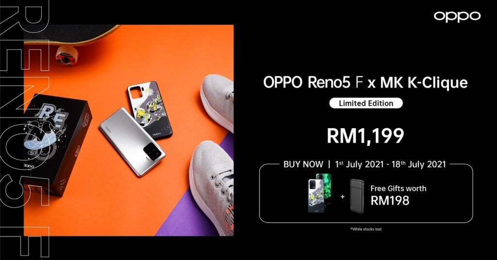 OPPO Reno5 and Reno5 F Limited Edition Now Available