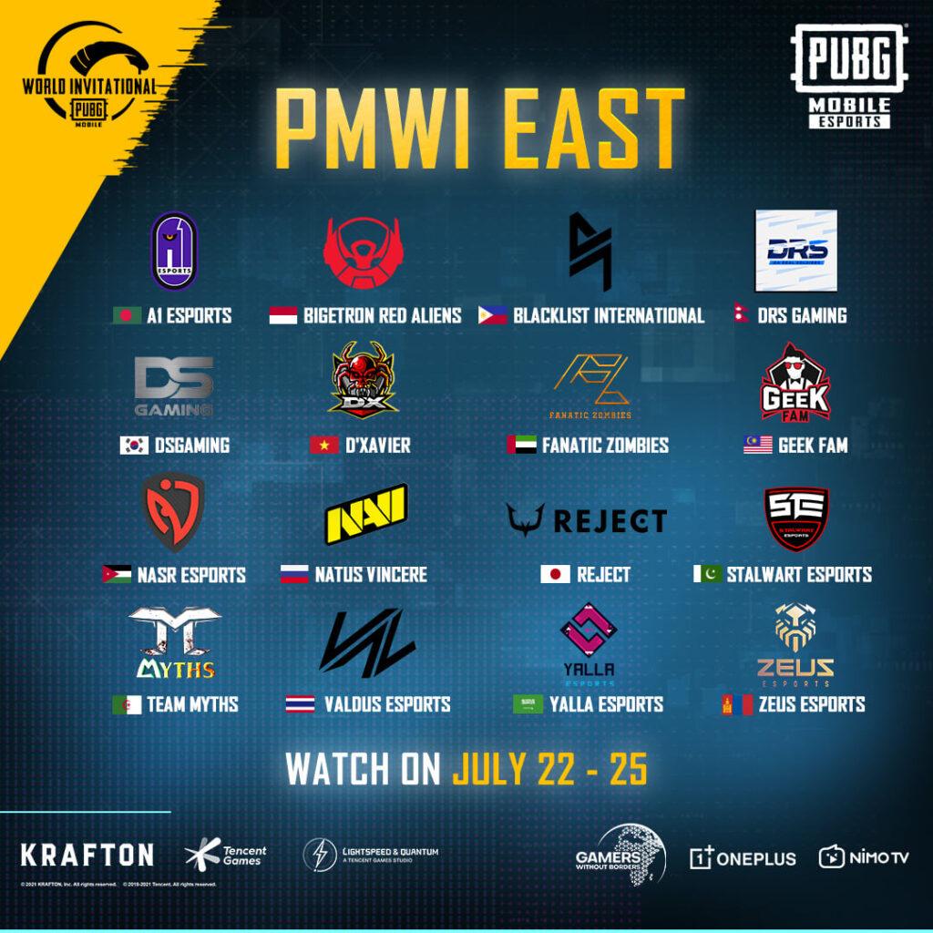 PUBG Mobile World Invitational 2021
