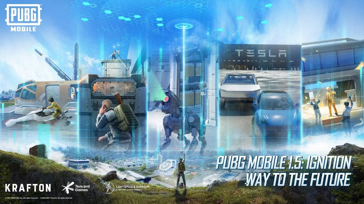 PUBG Mobile Adds Mission Ignition, TESLA Gigafactory, MG3 Gun In Update 1.5