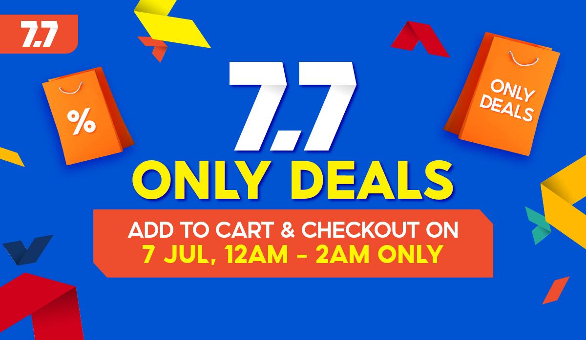 Shopee 7.7 Electrifying Tech Deals Is Happening Soon