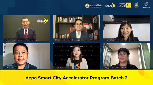 """depa and Techsauce team up to launch """"depa Smart City Accelerator Program Batch 2"""" in Thailand to Enhance Potential of Digital Startups to Develop Right Solutions for Sustainable Smart Cities, Livable Future."""