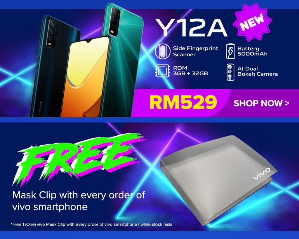 vivo x LazMall 7.7 Mid-Year Sale Offers Free Shipping And Discount Up To RM1,600