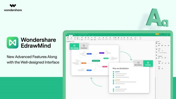 Wondershare EdrawMind Version 9.0 Showcases New UI and Advanced Features