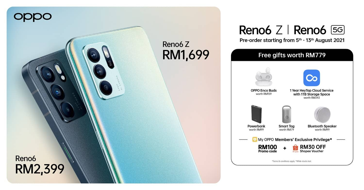 The New OPPO Reno6 Series 5G Officially Launches in Malaysia