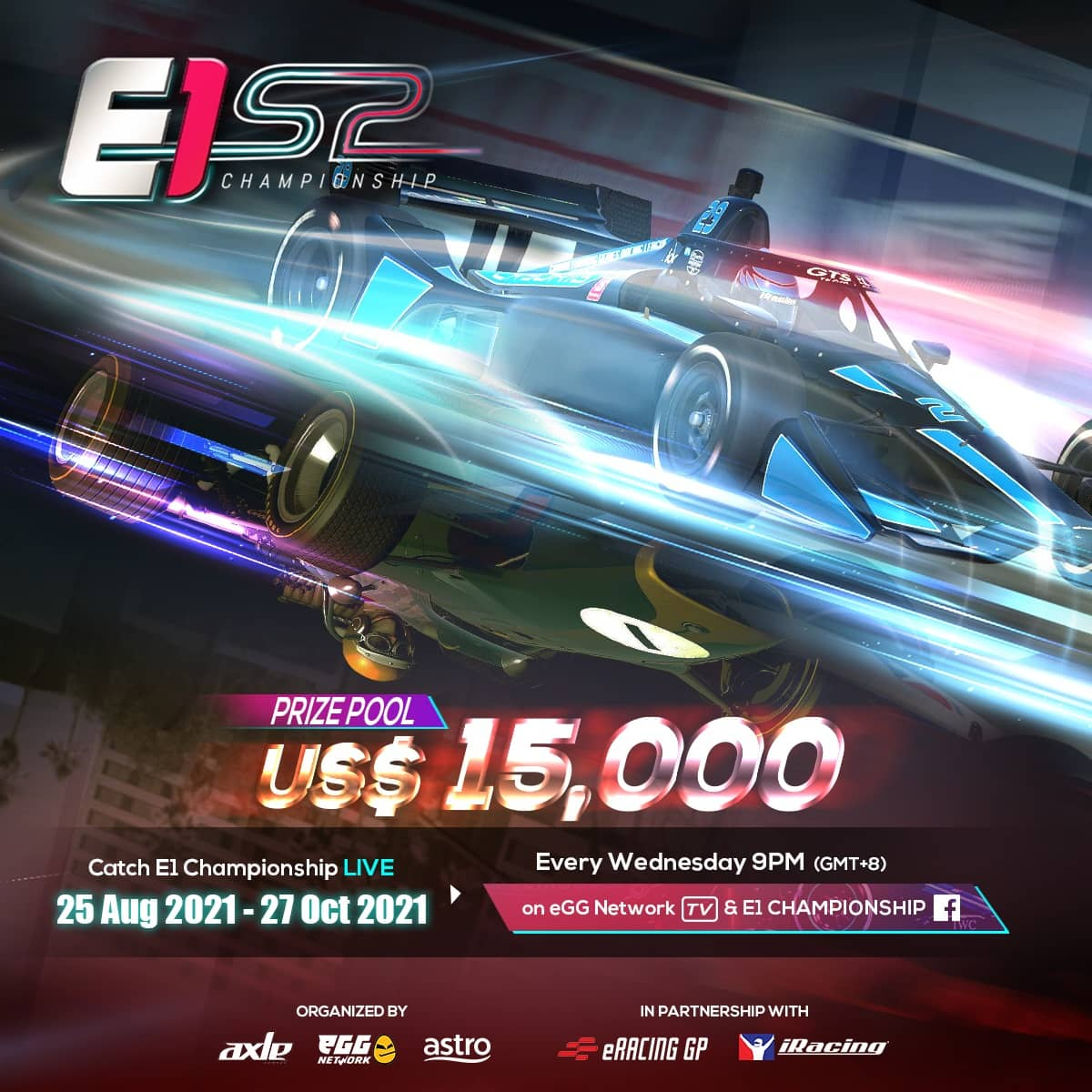 eGG Network and Axle Sports' E1 Championship is Back for a New Season