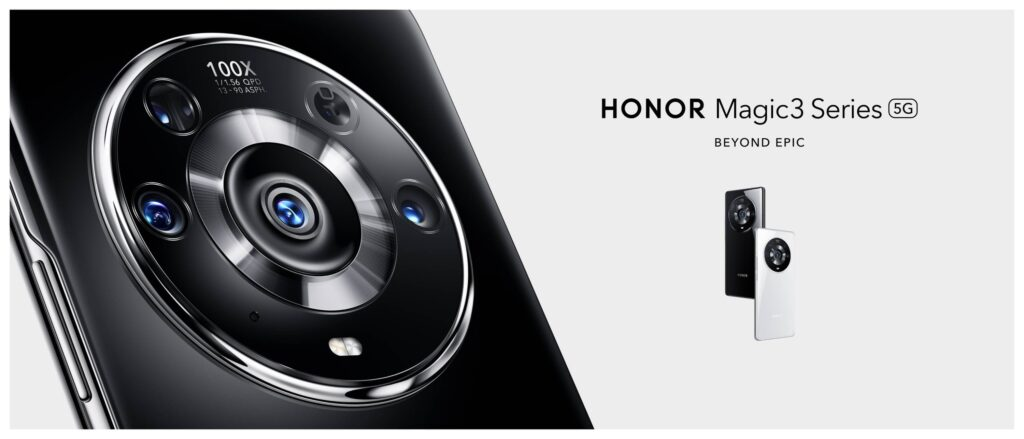 HONOR Announces Global Launch of the Iconic Flagship - HONOR Magic3 Series