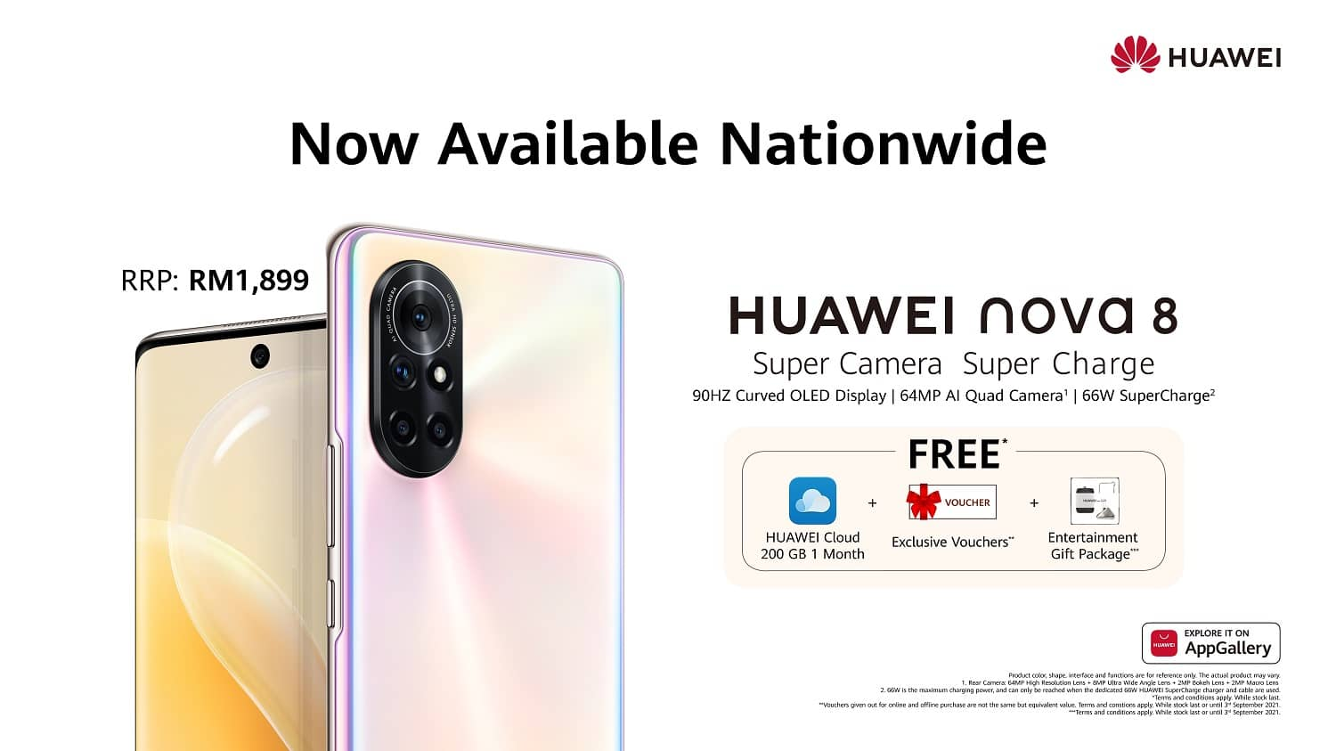 HUAWEI nova 8 Officially Launches in Malaysia, Priced at RM1,899