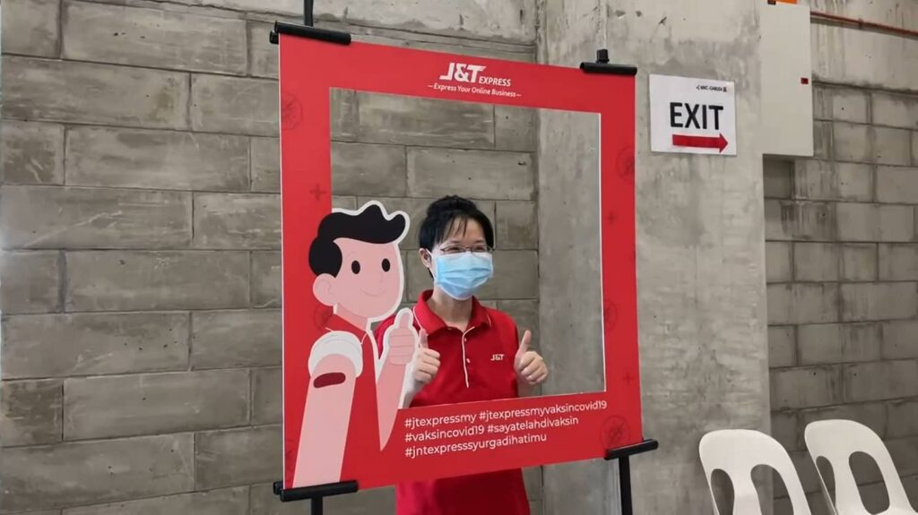 J&T Express To Vaccinate 95% of Employees By The End of August 2021