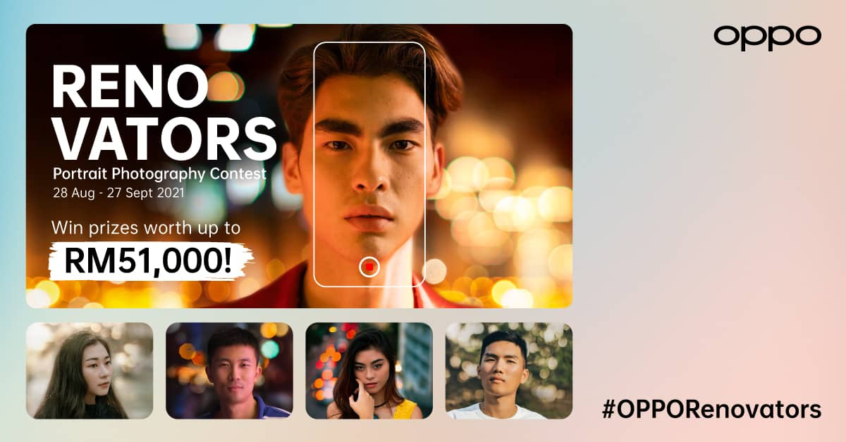 OPPO RENOVATORS Portrait Photography Contest Given a Kickstart in Search of Emerging Artists