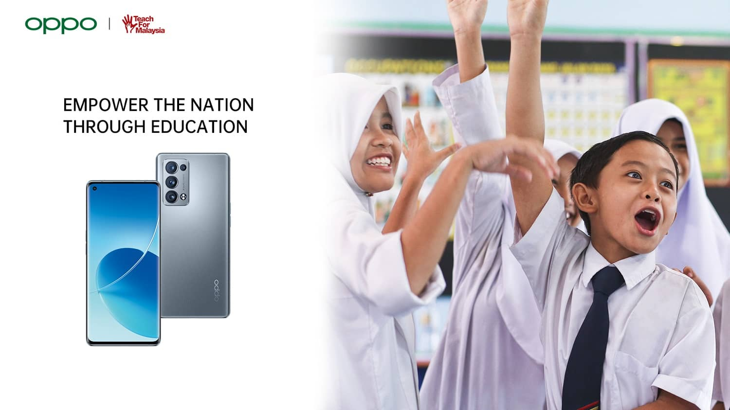 OPPO Partners with Teach For Malaysia to Support the Future of the Nation