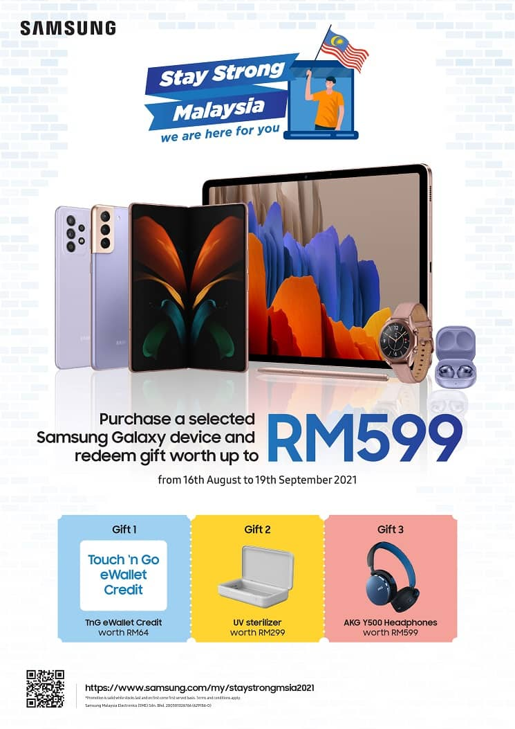 Stay Strong Together this Merdeka & Malaysia Day with Samsung
