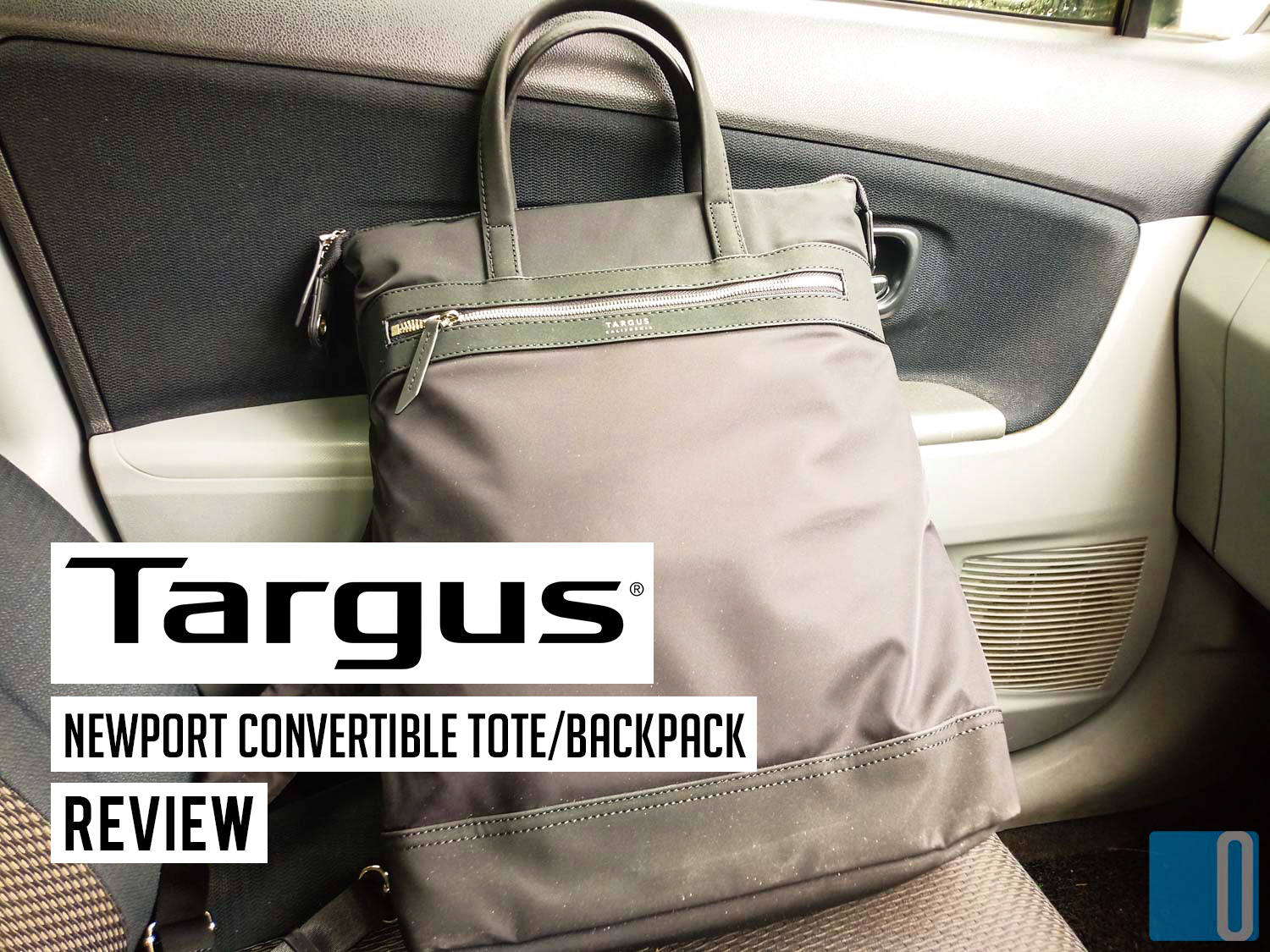 Targus Newport Convertible Backpack/Tote Review - Slim And Fashionable