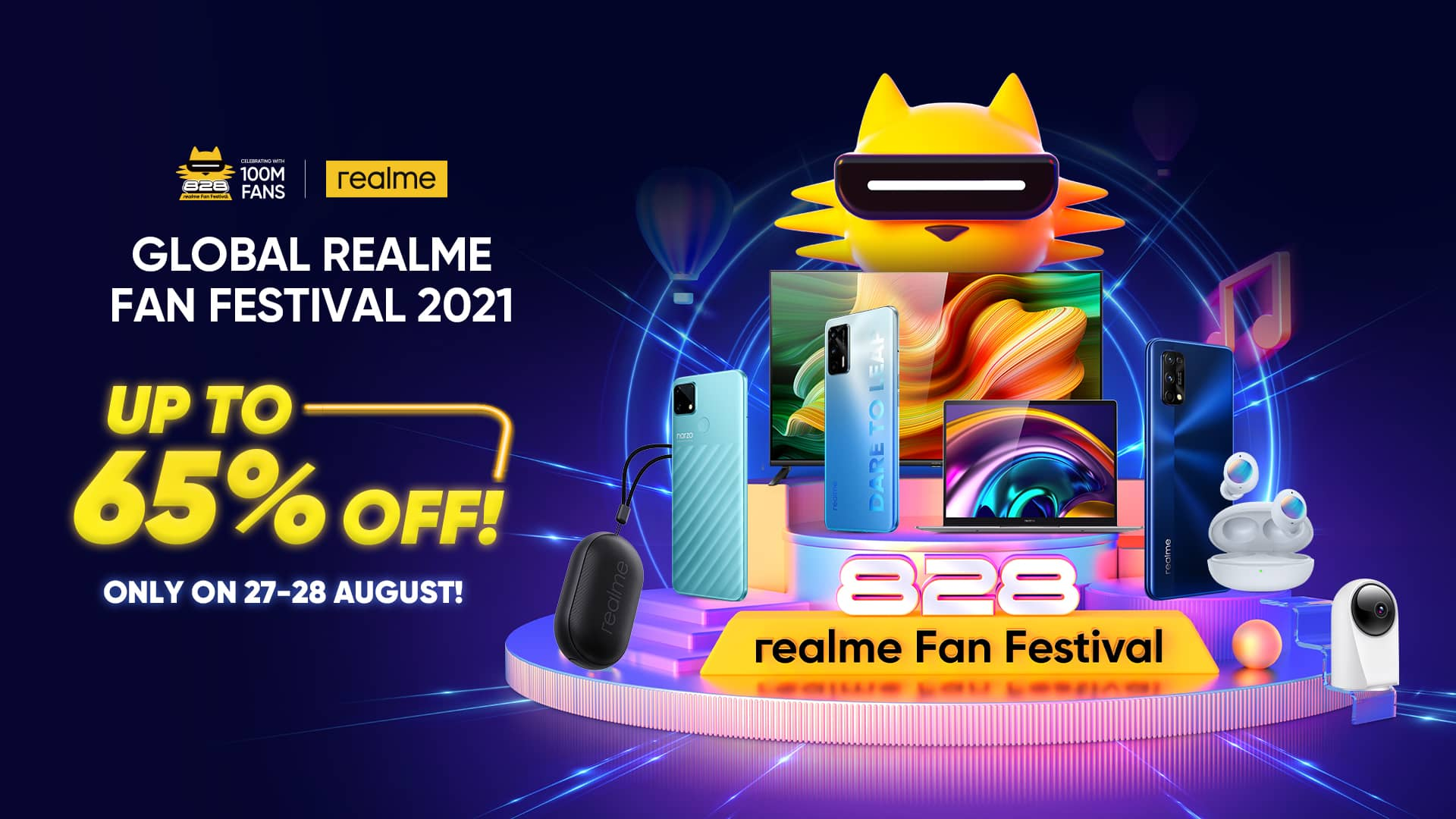 Dare To Be You On realme Fans Festival 2021