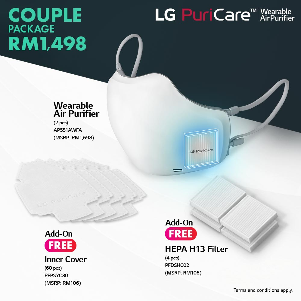 Breathe Better with the LG PuriCare Wearable Air Purifier: Now Available for Pre-Order in Malaysia