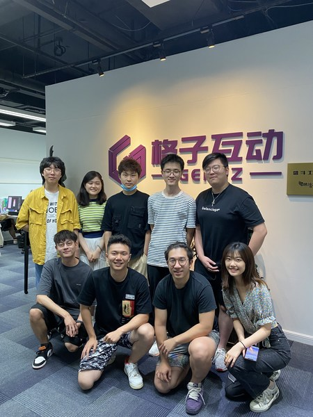The founder Kevin Ling and his team