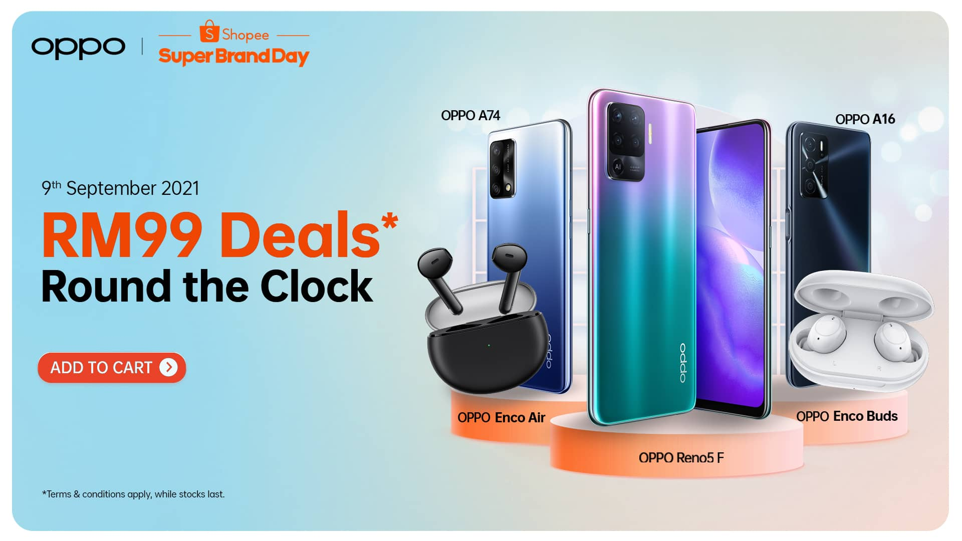 Score the Best Deals at the OPPO x Shopee 9.9 Super Brand Day Sale