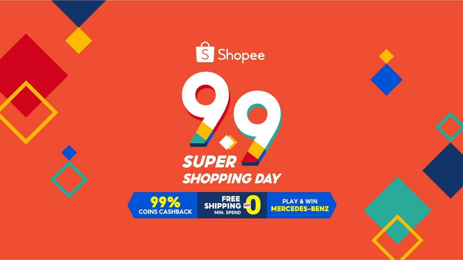 Kicking Off The Year-End Shopping Season With RM9.90 On Shopee 9.9 Super Shopping Day