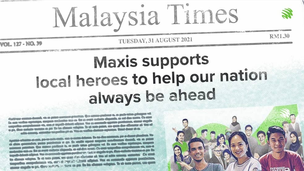 Maxis Awards - Enabling Local Heroes To Help More Malaysians To Always Be Ahead
