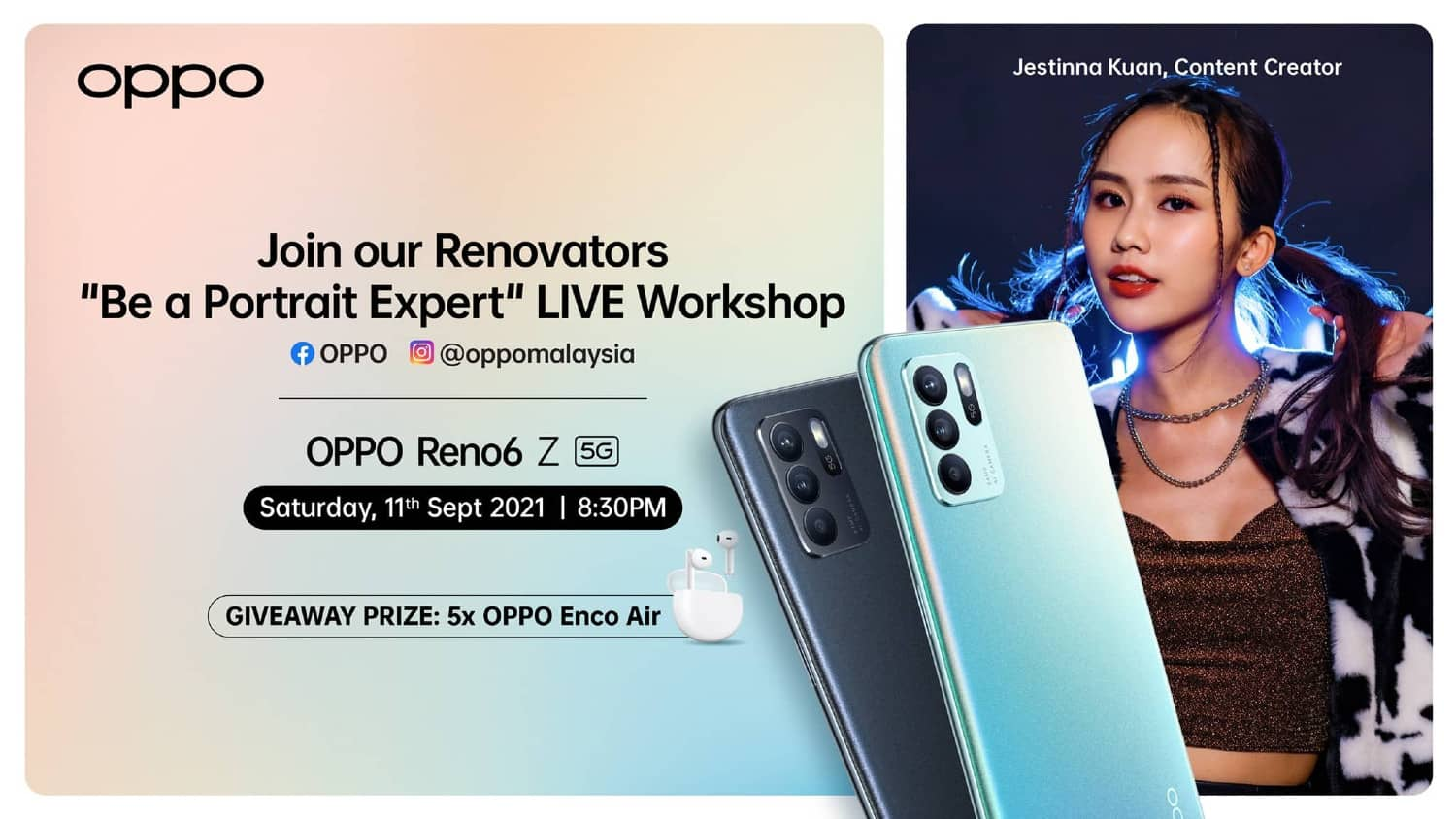 """Elevate Your Smartphone Photography Skills with OPPO's """"Be a Portrait Expert"""" Photography Workshop"""