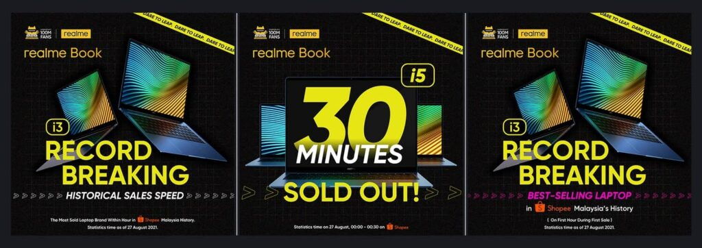 realme Fan Festival 2021 Hits Historical Record With Its Latest realme Book, realme GT Master Edition