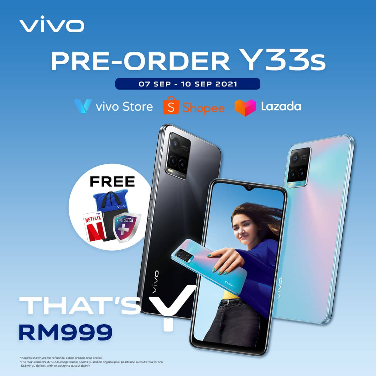 vivo Malaysia is Launching vivo Y33s - Sleek and Trendy Smartphone that Sparks Creativity