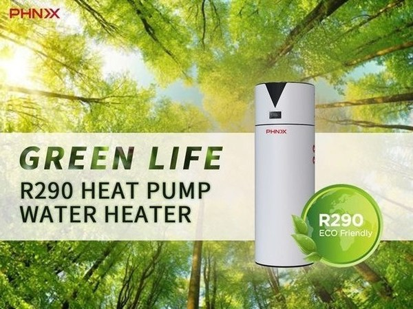 PHNIX R290 Inverter All-in-one Air Source Heat Pump Water Heater