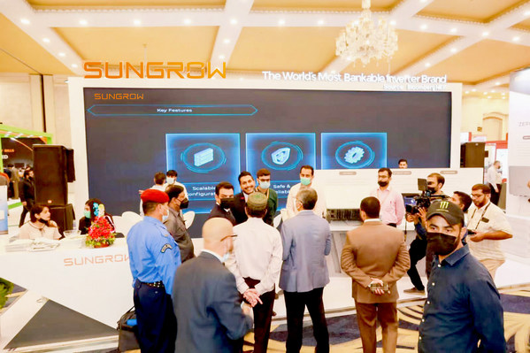 Sungrow Booth at Solar Pakistan 2021