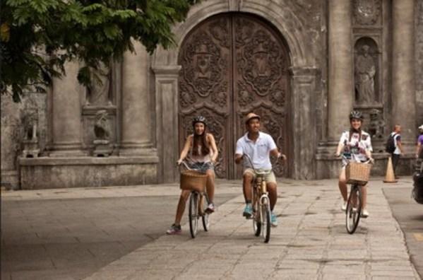 Bamboo Bike Tour in Intramuros, photo by Bien Bautista