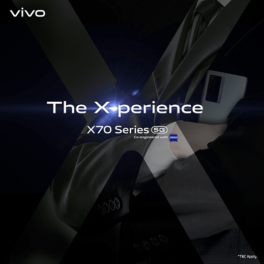 Exciting X-periences Await – The vivo X70 Series is Arriving Soon